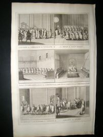 Picart C1730 Folio Antique Print. Religious Catholic 15